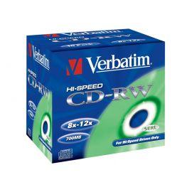 CD-RW VERBATIM 10x JC 10Pack 43148-102