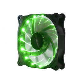 Wentylator LED 12cm Green