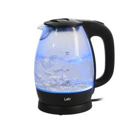 Czajnik LAFE CEG012.2 szklany 1,7L czarny Szklany czarny